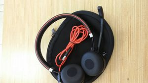 Jabra Evolve 65 MS Stereo Headset w/ Soft Carry Case & USB Cord - $49 (boca raton) for Sale in Boca Raton, FL