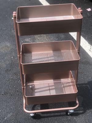 Three level rolling storage shelf for Sale in Alexandria, VA