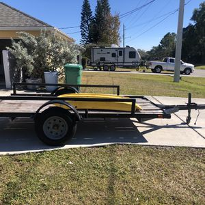 5x10 Homemade Trailer for Sale in Port St. Lucie, FL