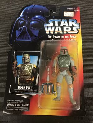 Rare !!! Vintage Kenner Star Wars Boba Fett Action Figure BRAND NEW SEALED IN BOX!!! for Sale in Lowellville, OH
