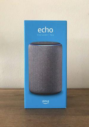 Amazon Echo + Alexa for Sale in Whittier, CA