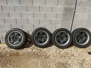 Camaro wheels with tires $300 obo for Sale in Scottsdale, AZ