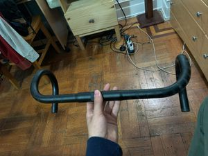 Fixed Gear Bike Road Bicycle Drop Bar Bent Handlebar Aluminum Alloy 25.4mm for Sale in The Bronx, NY