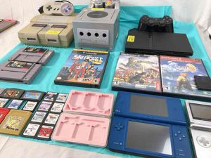 Huge Gaming Lot: 25 Games, 5 Tested Systems (SNES, Gamecube,GBA SP,DSiXL,PS2) for Sale in San Antonio, TX