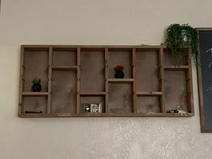 Wall shelves real wood for Sale in Manteca, CA
