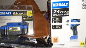 Kobalt drill and extra battery 3yr limited guarantee for Sale in Bakersfield, CA