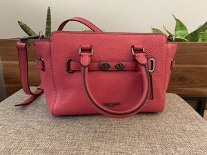Authentic coach mini satchel purse for Sale in Cleveland, OH