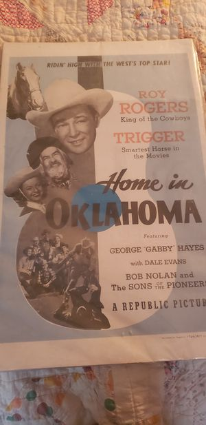 Home in oklahoma poster for Sale in Seagoville, TX