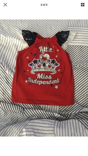 Girls toddler miss independent shirt size 2 t for Sale in Port St. Lucie, FL