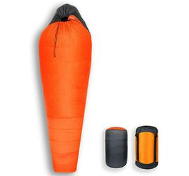 $340+tax on Amazon, Litume 14F 2.1 lbs 800 Fill Power Goose Down Sleeping Bag, Outdoor Mummy Travel Bag with Carry Bag and Compression Bag, Lightweigh for Sale in Poway,  CA