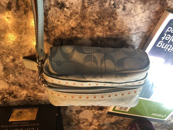 Small coach make up bag -like new