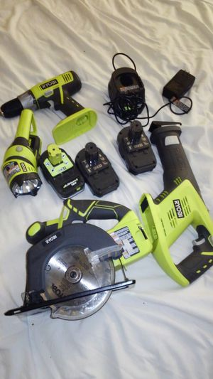 Ryobi power tools for Sale in Charlotte, NC