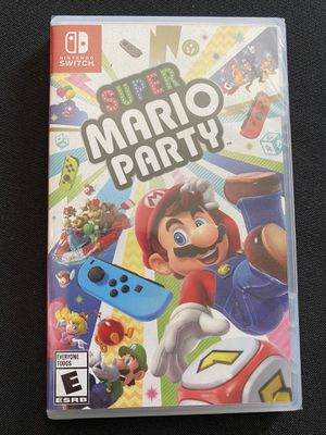 Super Mario party - switch for Sale in Los Angeles, CA
