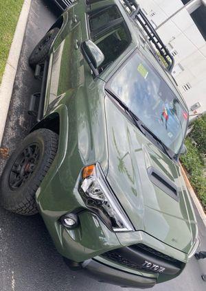 2020 Toyota 4Runner Trd Pro green edition for Sale in Miami Beach, FL