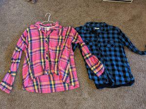 Plaid shirts for Sale in Sacramento, CA