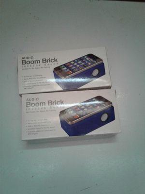 Audio boom brick instant sound speaker for iPhone for Sale in Columbus, OH