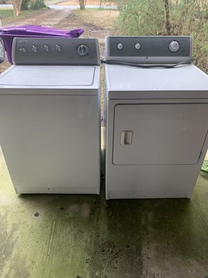 Washer whirlpool, dryer admiral for Sale in Mabelvale, AR
