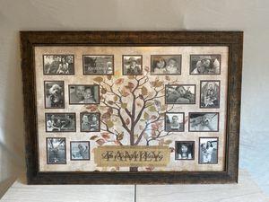 Decor Family Picture Frame for Sale in Richmond, VA