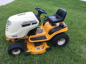 Riding lawn mower - Cub Cadet LT 1018 for Sale in Thonotosassa, FL