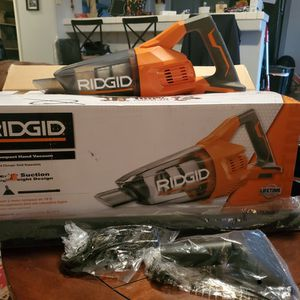 RIDGID 18V COMPACT HAND VACUUM for Sale in Bakersfield, CA