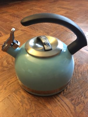 Kitchen Aid Tea Kettle - Blue for Sale in Alexandria, VA