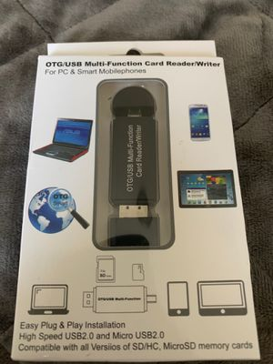 USB multi function card reader for Sale in Olympia, WA