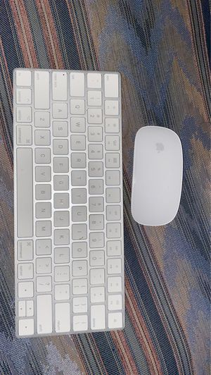 Apple wireless keyboard and Magic Mouse for Sale in Belvedere Park, GA