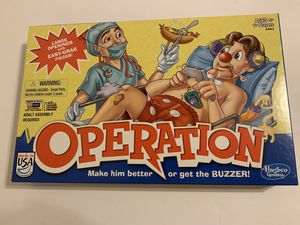 Operation Classic Board Game with Pieces - 2012 Hasbro Family Kids Game for Sale in Katy, TX