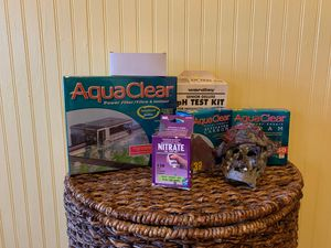 AquaClear Power Filter 50 & Misc fish tank items for Sale in Christmas, FL