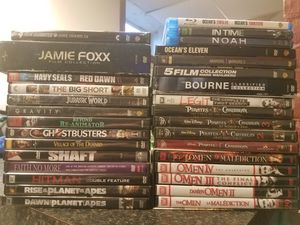 52 MOVIES & 1 TV SHOW (60+ discs) for Sale in Providence, RI