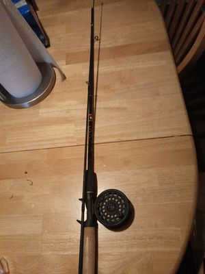 Fly fishing reel with a casting rod combo for Sale in Woodland, CA