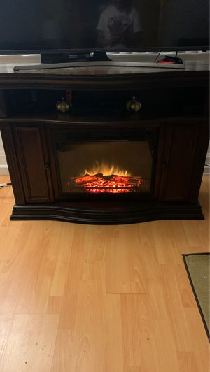 Beautiful fireplace tv stand for Sale in Fremont, CA
