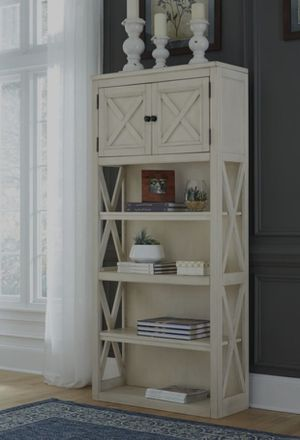 🔥$39 down payment💥-Bolanburg White/Oak Large Bookcase   H647 for Sale in West Laurel, MD