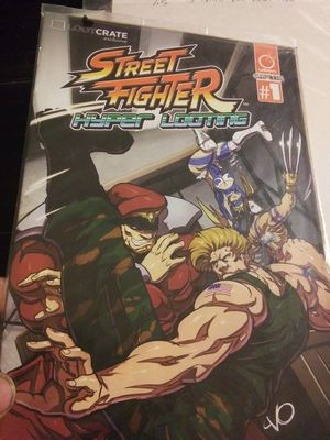 Street fighter comic for Sale in Los Angeles, CA