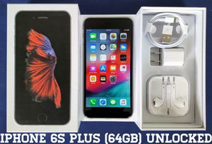 Iphone 6S Plus (64GB) Factory-UNLOCKED (Like-New) for Sale in Falls Church, VA