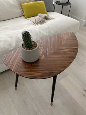 MidCentury Modern Palisander Wood Side Table DWR Design Within Reach for Sale in Irvine, CA
