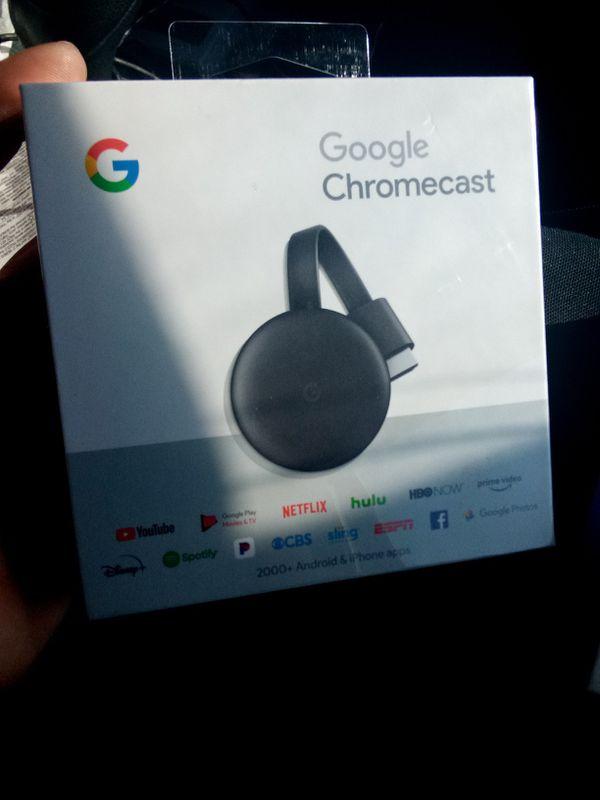 Google Nest Mini with Google chromecast