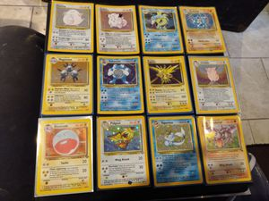 MINT pokemon cards ALL WOTC HOLO CARDS for Sale in Milton, WA