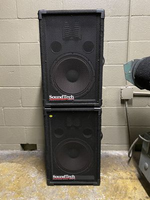 Sound Tech pro audio speakers for Sale in Dallas, TX