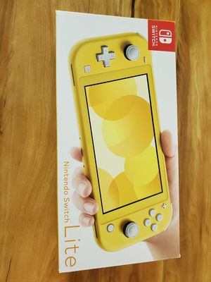 Brand New Nintendo Switch Lite Yellow Color for Sale in Columbus, OH