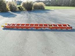 28ft fiberglass extension ladder by werner for Sale in Seattle, WA