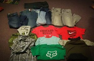 Boys size 10/12 name brand clothing lot for Sale in Fairfield, IA