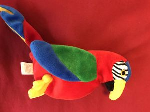TY Beanie Baby Jabber the Macaw Parrot Plush 1998 for Sale in Houston, TX