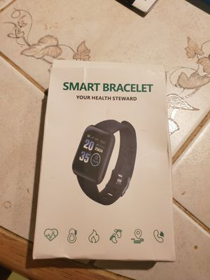 Smart watch workout bracelet work out bpm step counter for Sale in Chicago, IL