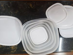 Food Storage Containers: 23 piece plus lids for Sale in SKOK, WA