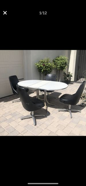 Kitchen Table and Swivel Chairs for Sale in Phoenix, AZ