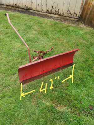 Tractor/Lawn Mower grading blade/snow plow for Sale in Beaverton, OR