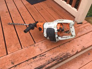Stihl bt45 wood boring drill for Sale in Newport News, VA