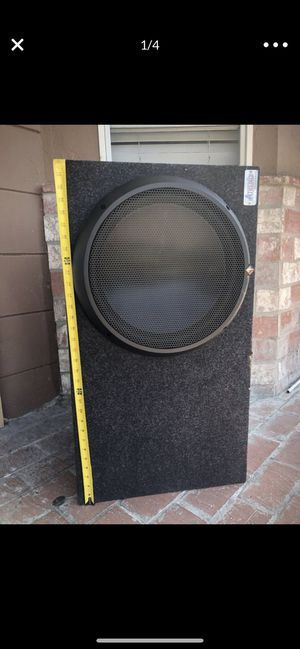 """Rockford Fosgate 15"""" T1 subwoofer match Amplifier for Sale in Concord, CA"""