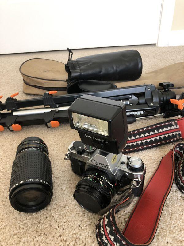 Cannon AE1 Photographer Set